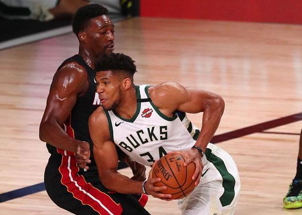 Bucks salgono 29 da tre punti per stabilire un record, 47 punti di vittoria in trasferta sugli Heat