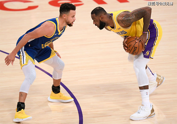 """La partita Lakers vs Warriors può accadere, Stephen Curry è al """"vertice del potere"""""""