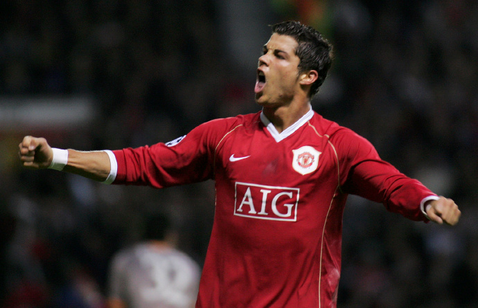 Il Manchester United lascia il posto a Cristiano